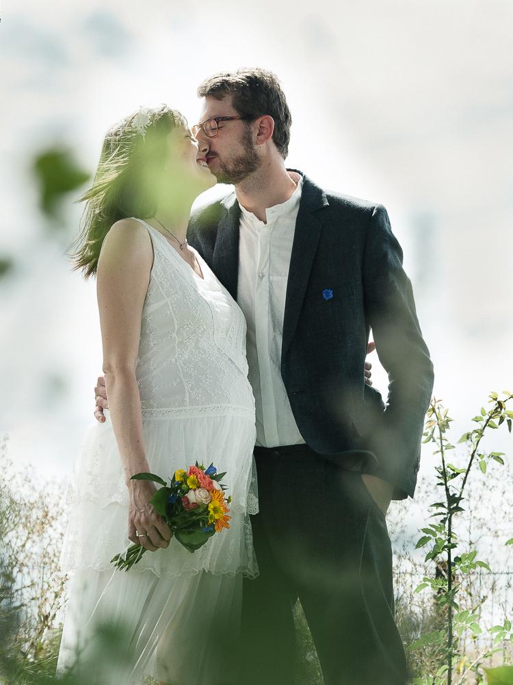 Alternative Hochzeitsfotografie Brautpaarshooting Leipzig