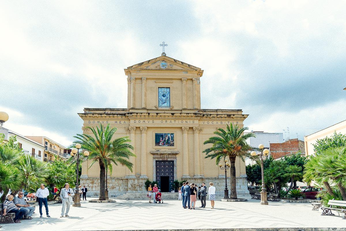 Hochzeitsreportage Sizilien Trauung Kirche
