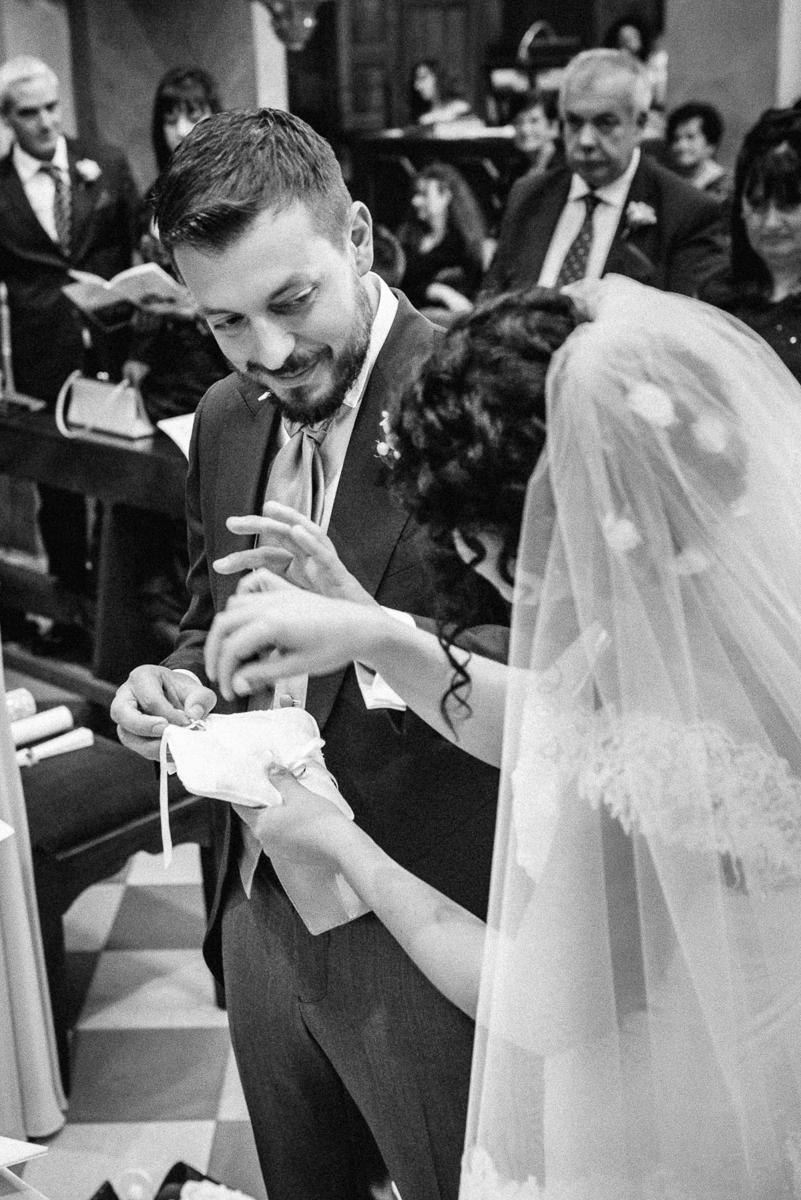 Hochzeitsreportage Sizilien kirchliche Trauung