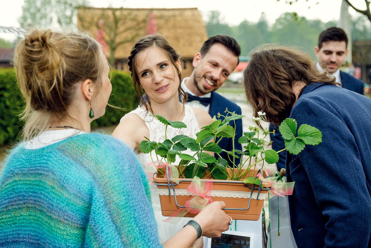 Brautpaarshooting Spreewald Hochzeitsfotograf