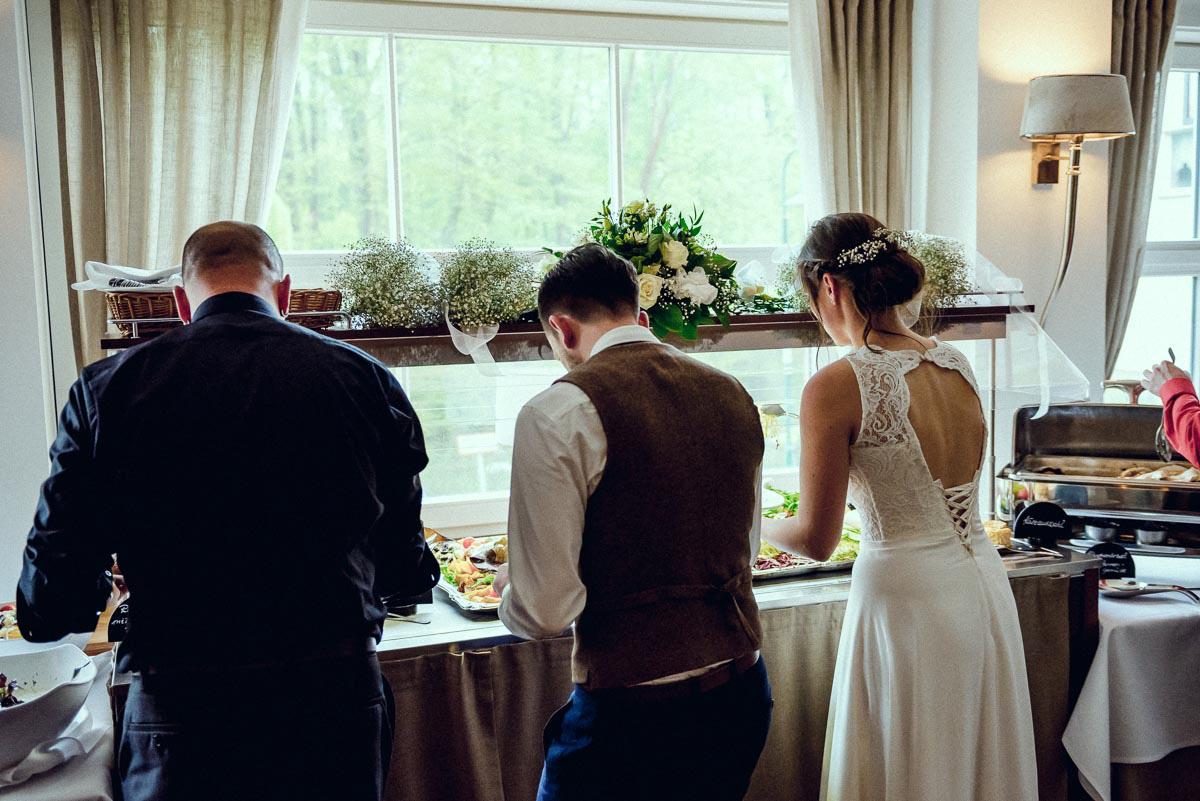 Hochzeit im Spreewald Buffet