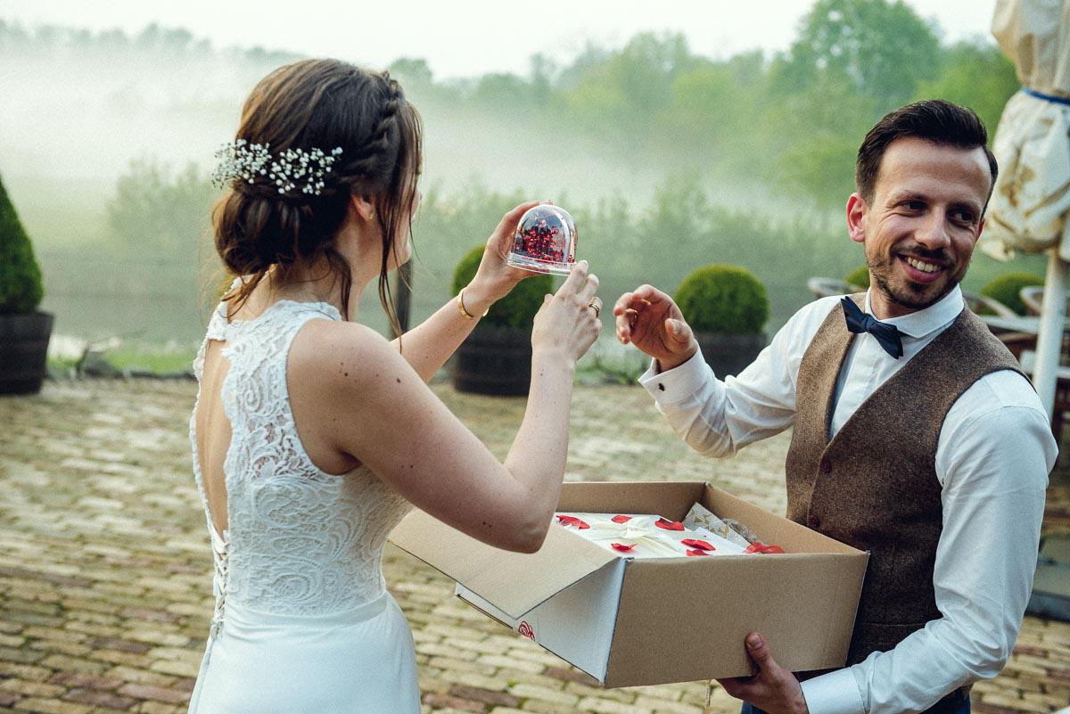 Hochzeitsreportage Spreewald Feier
