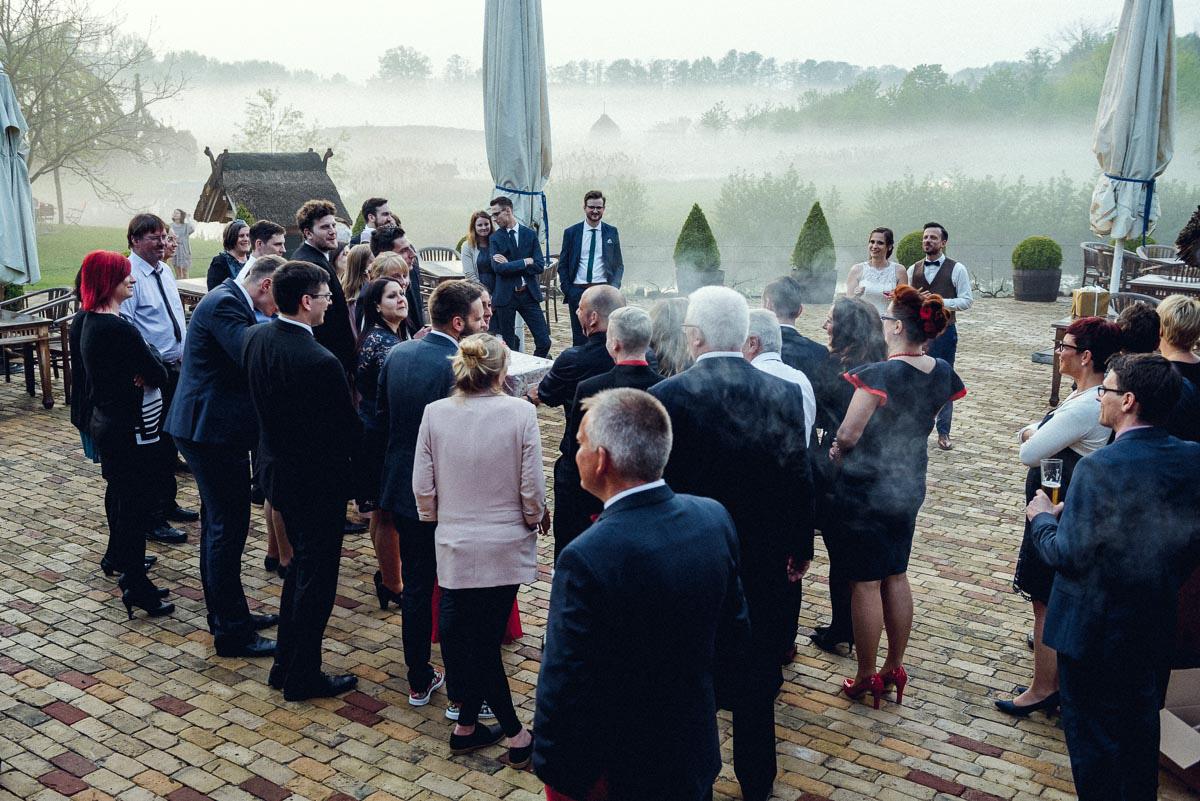 Hochzeit im Spreewald Feier