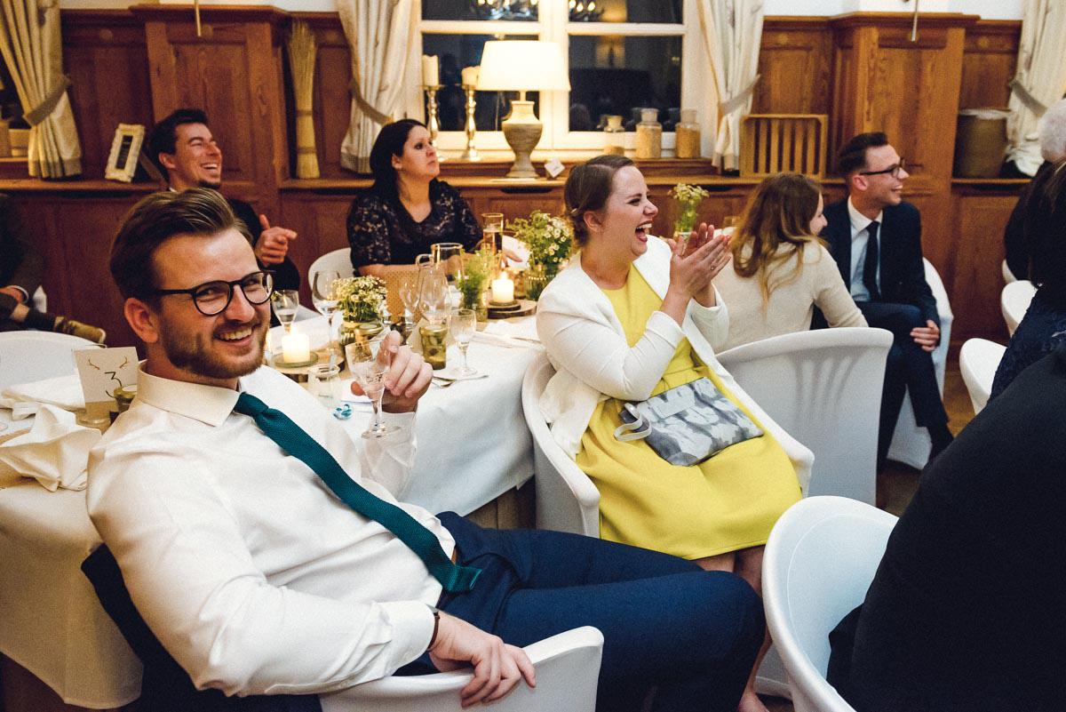 Hochzeitsreportage Spreewald Hochzeitsfeier