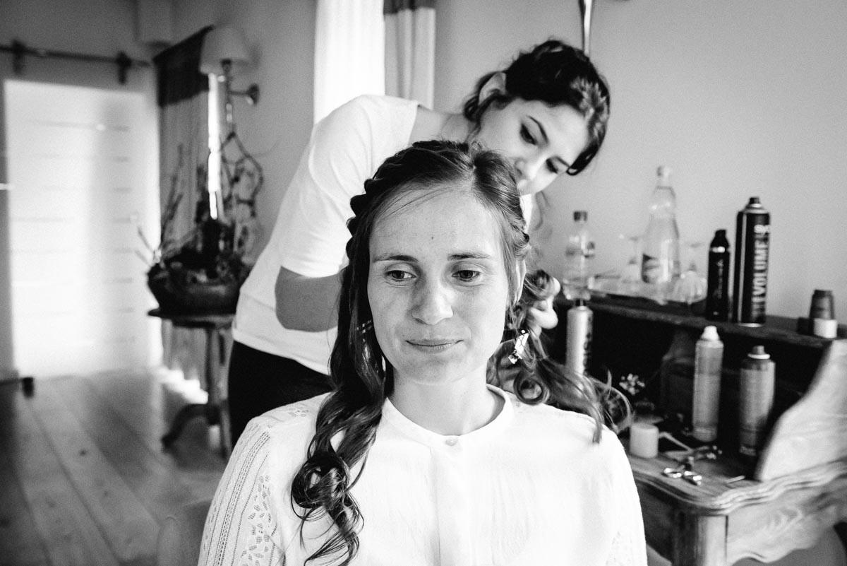 Hochzeit Braut Vorbereitung