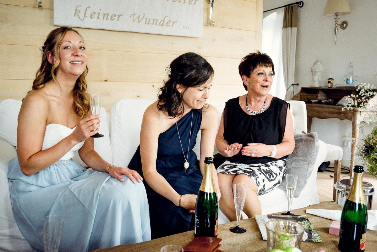 Hochzeit  Spreewald Vorbereitung