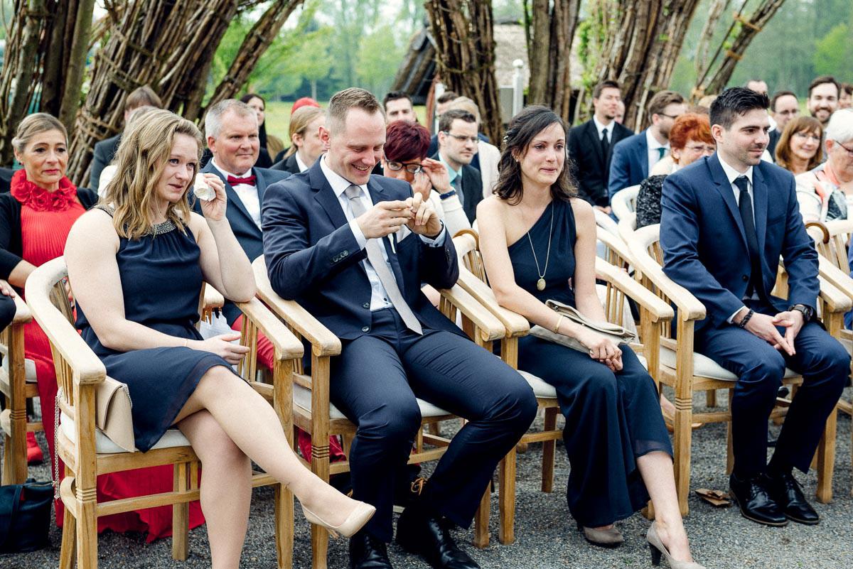 Hochzeit im Spreewald Trauung
