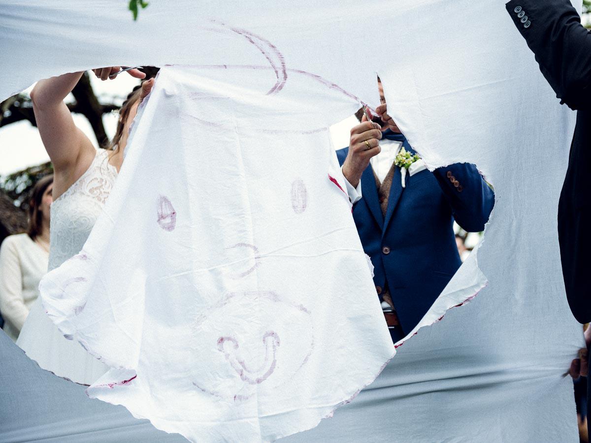 Hochzeit Laken