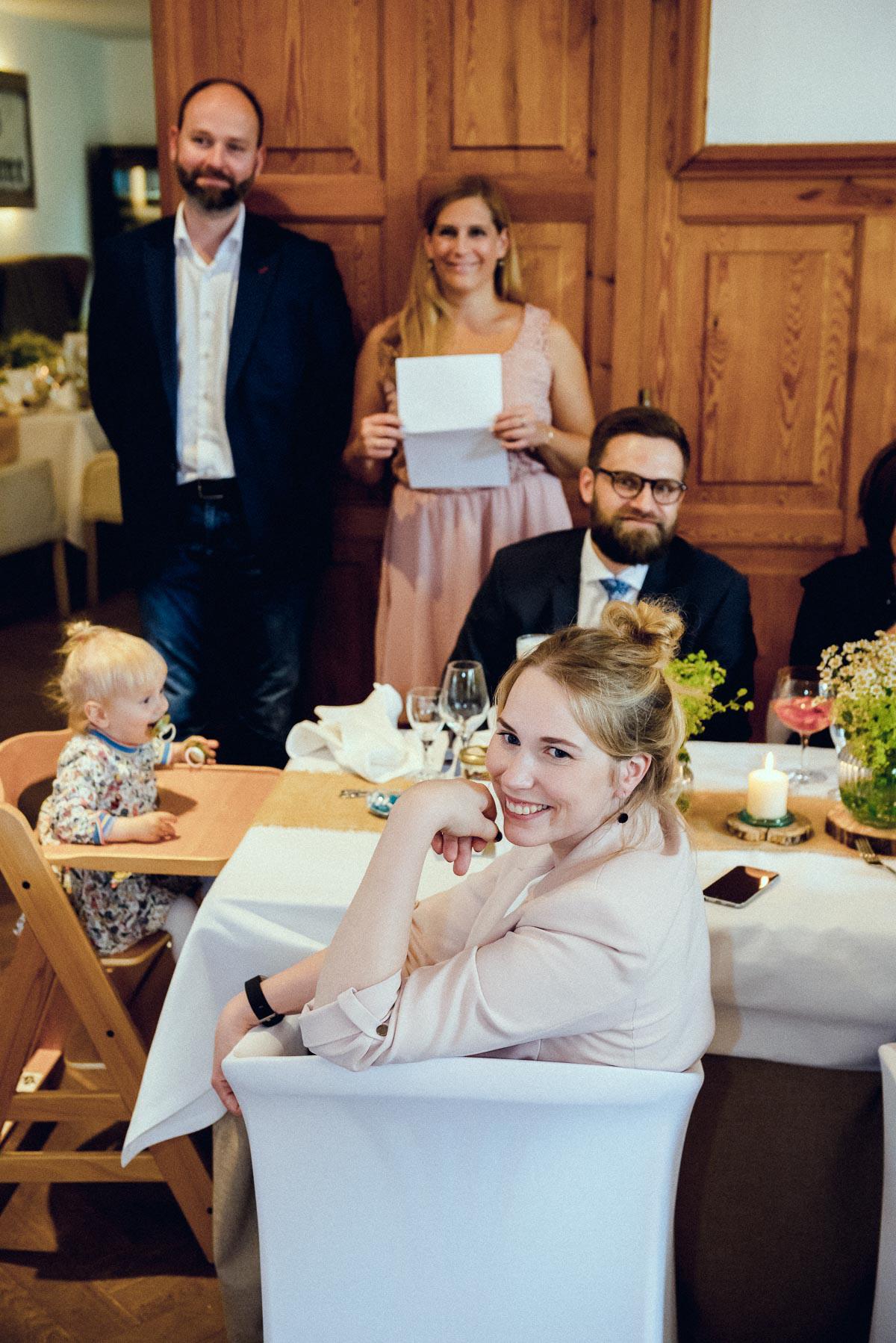 Hochzeitsreportage Feier