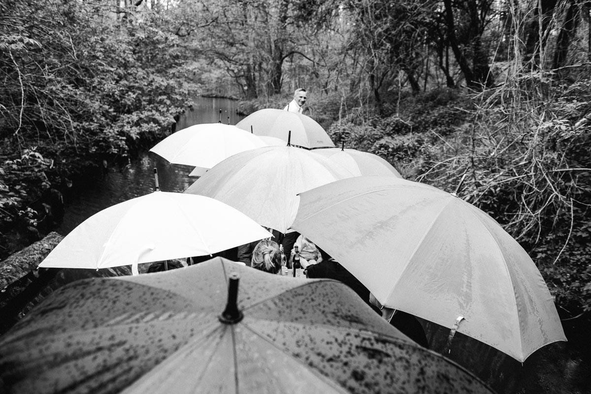 Hochzeitsreportage Spreewald Kahnfahrt