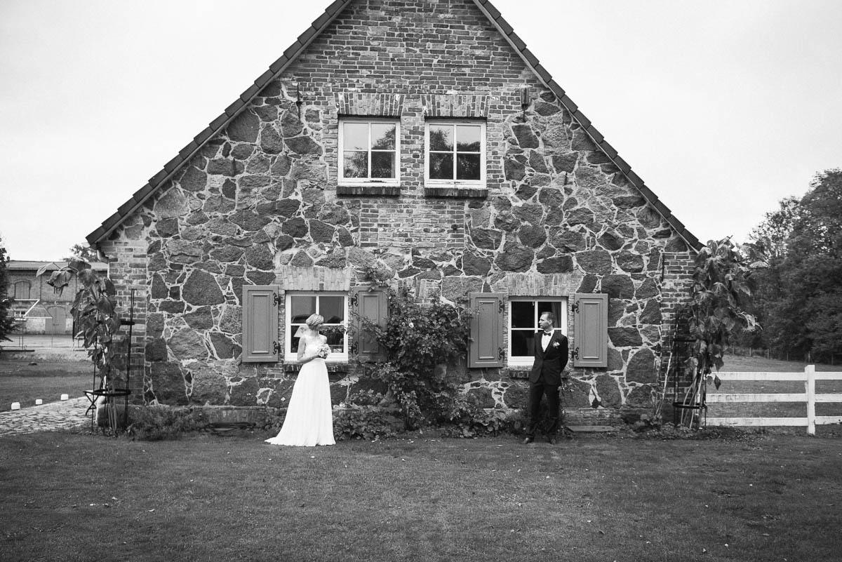 Hochzeit auf dem Gutshof